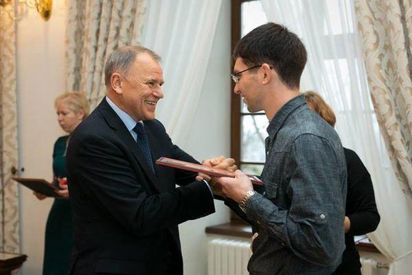 Mantas Malcius ir Vytenis Povilas Andriukaitis