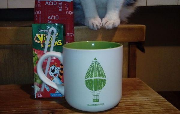 Kraujo centras - Žalias puodelis